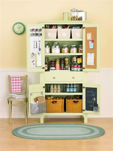 Stand Up Pantry Free Standing Kitchen Pantry Idea Kitchens