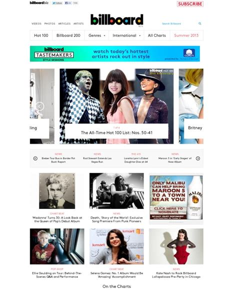 website designs for publication websites 25 magazine or news style web designs for inspiration