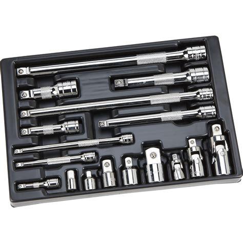 socket set organizer sale klutch ratchet accessory set 17 pc northern tool equipment