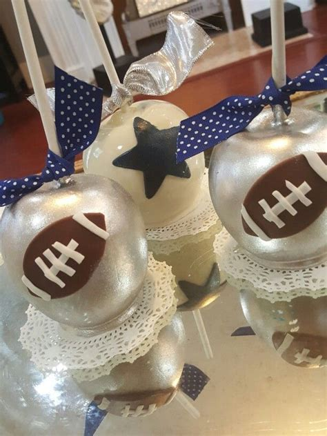 dallas apple dallas cowboys candy apples oneskinnybaker candy apples