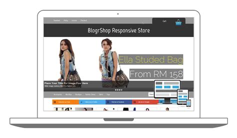 blogger themes blogspot responsive e commerce shopping