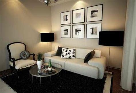 salas pequenas minimalistas consejos  la decoracion