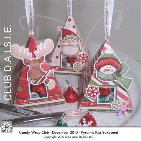 holiday christmas printable candy boxes candy bar