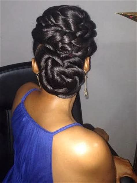 updo with expressions braid hair blowouts big hair and my twisted updo using braiding hair