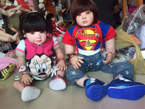 haunted dolls 3 from thailand are adopting creepy haunted dolls for