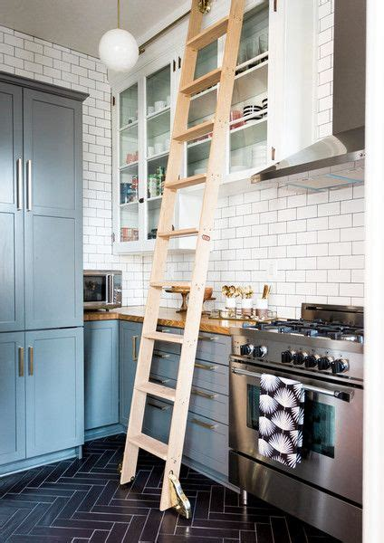library ladder in kitchen 1168 best images about kitchens on stove