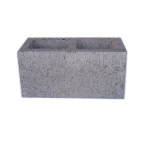 8 in x 8 in x 16 in solid end concrete block