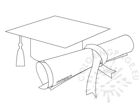 Graduation Cap And Gown Coloring Pages Coloring Pages Graduation Cap And Gown Coloring Pages