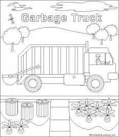 garbage truck coloring page garbage truck coloring page