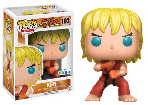 Funko Pop Ryu Fighter toys r us exclusive ryu and ken funko pops pre order now fpn