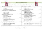 printable etiquette quiz english teaching worksheets manners