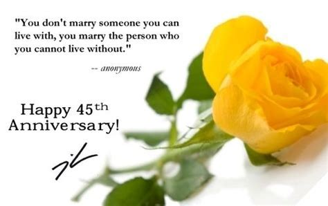 45th Wedding Anniversary!!   Wedding Anniversary Cards