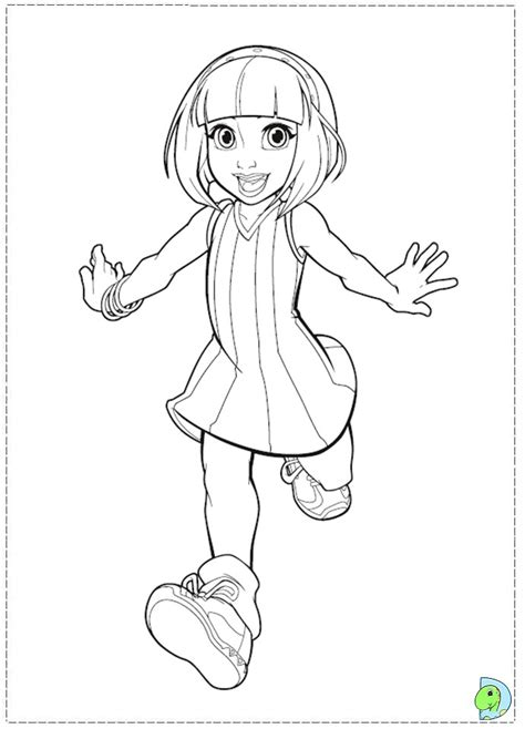 free coloring pages of lazy town pictures
