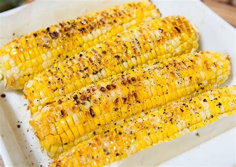Roasted Corn magical oven roasted corn