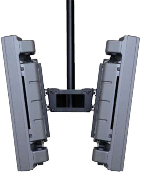 Dual Monitor Ceiling Mount peerless plb1 plasma and lcd dual screen monitors ceiling
