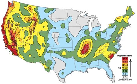 seismic map usa lesson 4 is the new madrid seismic zone at risk for a