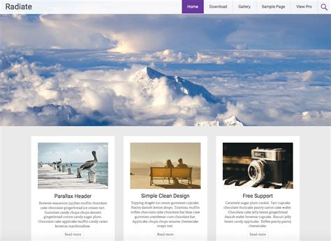 personal blog wordpress themes templates