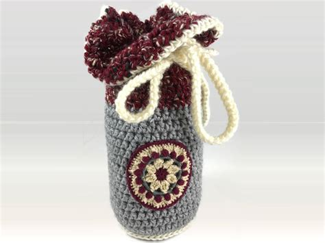 Handmade In Vermont - chocolate with handmade crocheted bag sweet on vermont