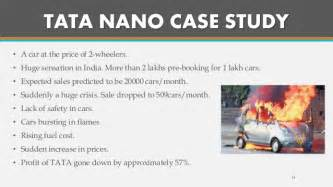 Study On Tata Nano Project Mba by Tqm Prevention Is Better Than Cure