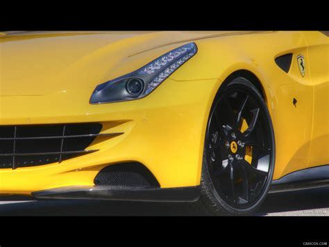 Ff Yellow 2012 Novitec Rosso Ff Yellow Front Wallpaper