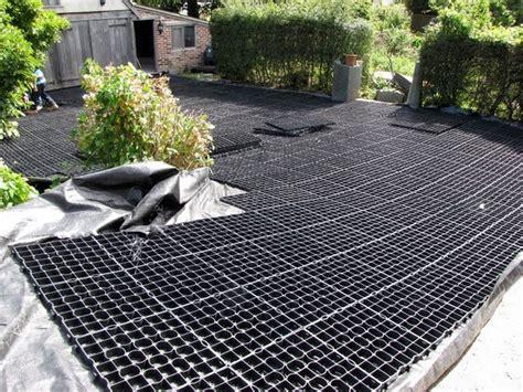green driveway material alternative driveway ideas