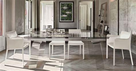 sedie per tavolo in cristallo vendita shoparreda tavoli cristallo allungabili