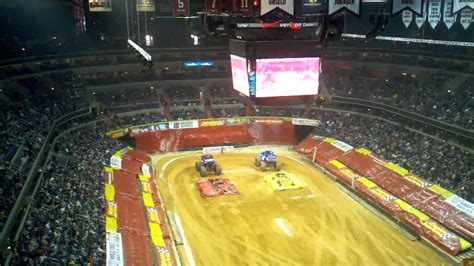 monster truck show washington dc monster truck jam at the verizon center in dc youtube