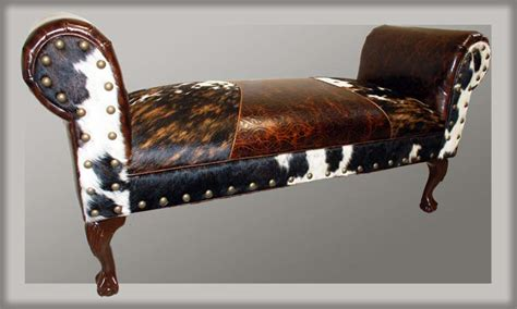 western benches triumph western cowhide bench western benches free shipping