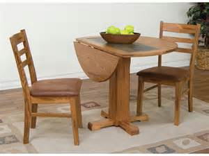 Design For Small Drop Leaf Tables Ideas Designs Dining Room Sedona Drop Leaf Table With Slate 1223ro Robinson Furniture Garden