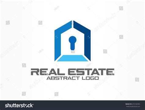 abstract logo business company corporate identity stock
