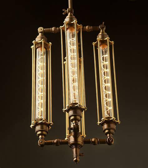 Edison Light Fixtures Edison Light Globes Part 2 Brassy Steunk Style L Fixtures Core77