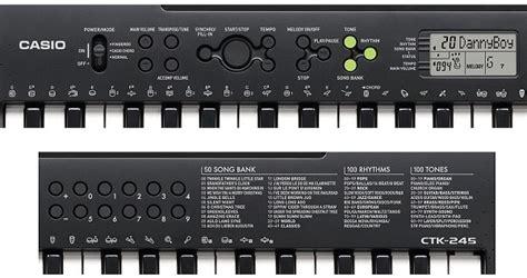 Casio Keyboard Ctk 245 Ctk 245 jual casio keyboard tunggal ctk 245 murah bhinneka