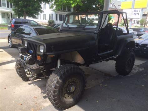 custom off road jeep 1994 jeep wrangler rockcrawler efi v8 dana 60 off road