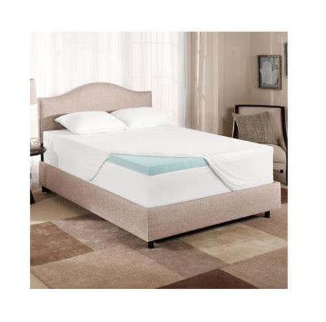novaform gel memory foam 3 inch mattress topper in