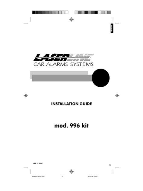 laserline alarm wiring diagram k