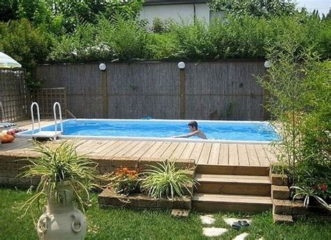 backyard pool ideas on a budget 25 best ideas about above ground pool on pinterest