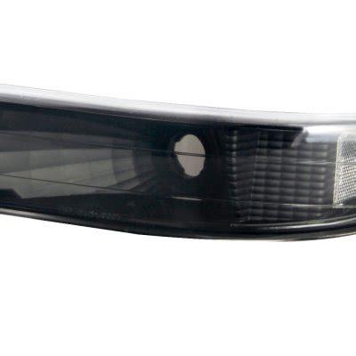 smoked headlights and lights chevy tahoe 2000 2006 black smoked headlights and bumper