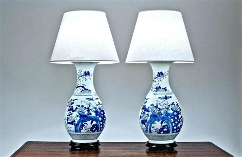 blue and white l shade navy blue and white l shade chandelier large drum