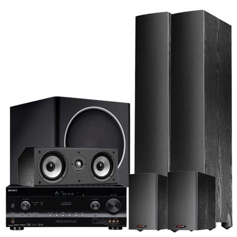 polk audio home theatre system with sony 770 watts 7 1