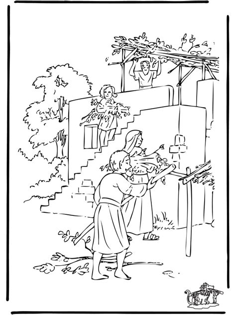 sukkot coloring pages sukkah coloring page and misc feast days sukkot