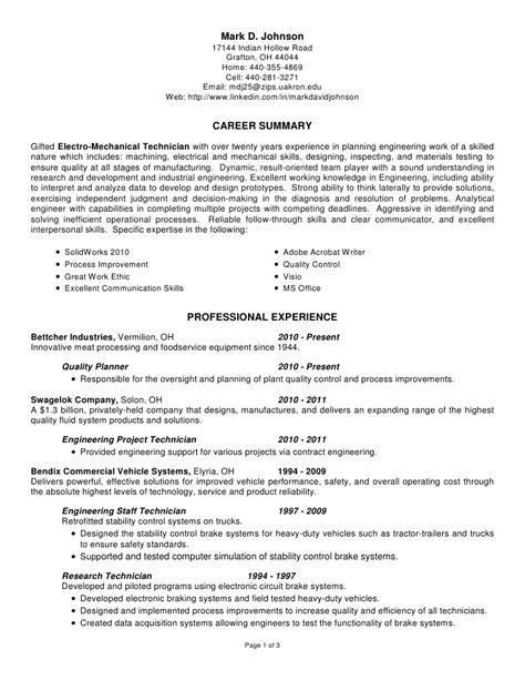mechanical assembler resume 100 images assembler