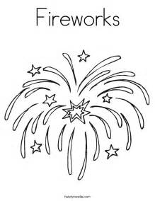 firework template fireworks coloring page twisty noodle