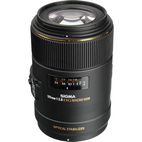 Sigma Lensa sigma 105mm f 2 8 ex dg os hsm macro lens for nikon af 258306