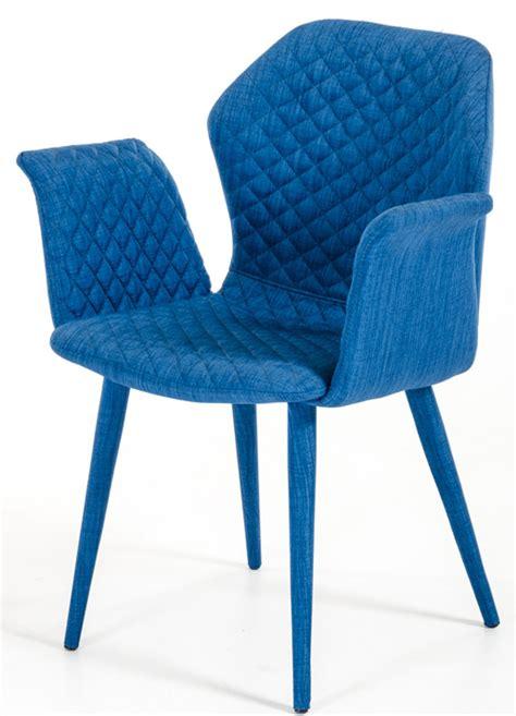 zaffiro blue upholstered chair dining chair blue advanced interior designs