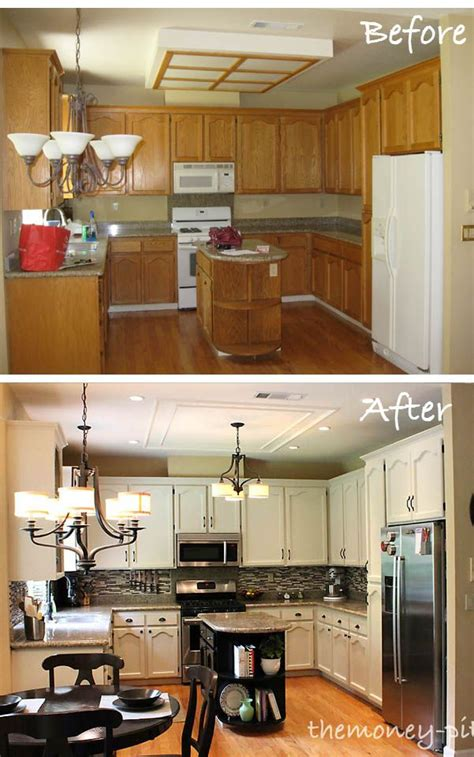 how to prepare kitchen cabinets for painting 25 best ideas about oak kitchen remodel on pinterest
