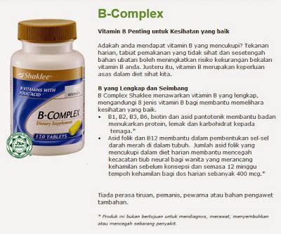 Vitamin B Complex Di Farmasi dunia vitamin semulajadi jom kurus dengan b complex