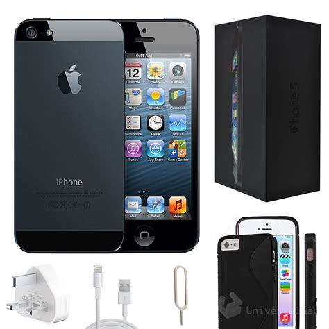 Iphone 5 16gb 1 apple iphone 5 16gb black factory unlocked grade a with