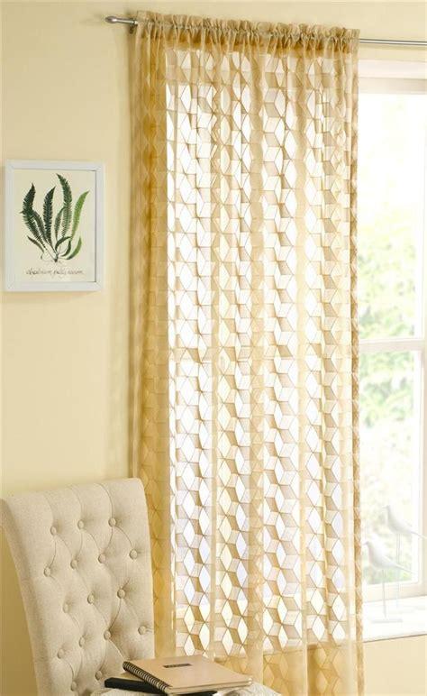 modern lace curtains fairmont modern retro lace curtain panel not voile