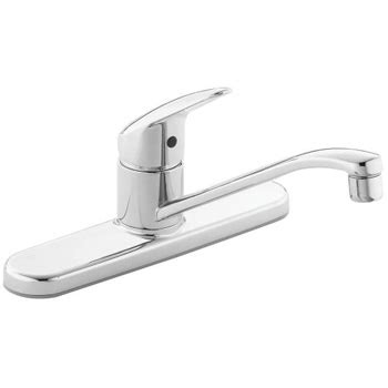 One Handle Kitchen Faucet | cleveland faucet group ca40512 cornerstone one handle