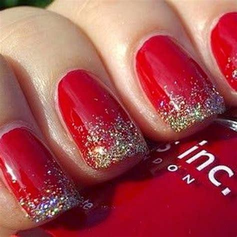 imágenes de uñas rojas con dorado u 241 as decoradas u 241 as decoradas en color rojo dise 241 os y